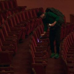 Korey searching the next clue at the Yerevan Opera House in <a href=