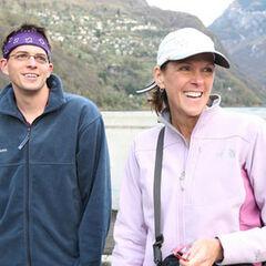 Margie & Luke in Lucarno, Switzerland.