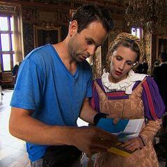 Jeremy & Sandy reading the <a href=
