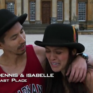 Dennis & Isabelle were eliminated from the race in 10th place.