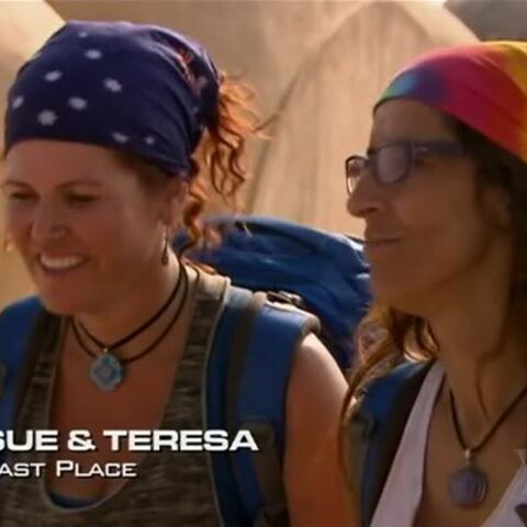 Sue & Teresa were eliminated from the race in 10th place.