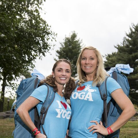 April & Sarah's alternate photo from <i>The Amazing Race</i>.