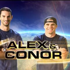 Alex & Conor in the Opening credits.