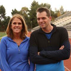 Margie & Luke at the starting line.
