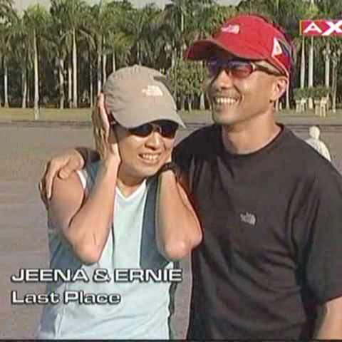Ernie & Jeena are eliminated from the race in 10th place.