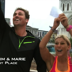 Tim & Marie win the first leg and two <a href=