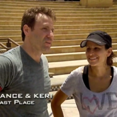 Lance & Keri were eliminated from the race in 8th Place.