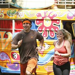 Trey & Lexi running to the <a href=