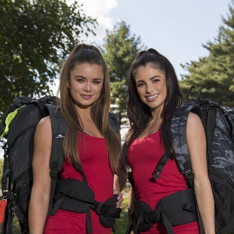 Dessie & Kayla's alternate promotional photo for <i>The Amazing Race</i>.