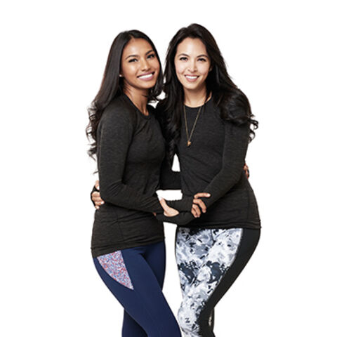 An alternate promotional photo of Parul & Maggie for <i>The Amazing Race Asia</i>.