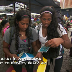 Natalie &amp; Nadiya are the first to start the <a href=