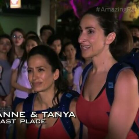 Anne & Tanya are eliminated from the race in 8th place.