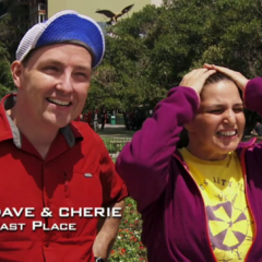Dave & Cherie were eliminated from the race in 10th place.