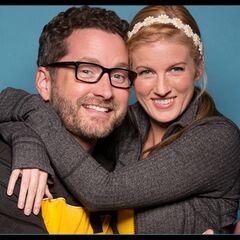An alternate promotional photo of Burnie & Ashley for <i>The Amazing Race</i>.
