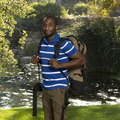 Jelani's individual photo for <i>The Amazing Race</i>
