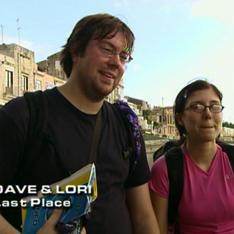 Dave & Lori were eliminated from the race in 7th place.