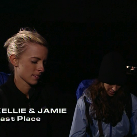 Kellie & Jamie were eliminated from the race in 10th Place.