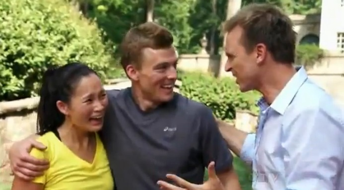 Ernie and cindy amazing race winners dating