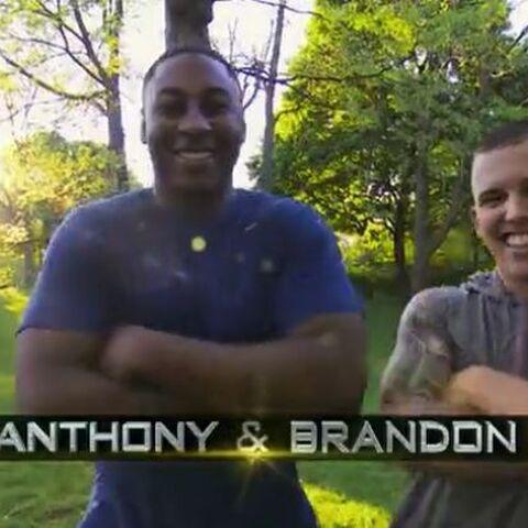 Anthony & Brandon's opening credit.