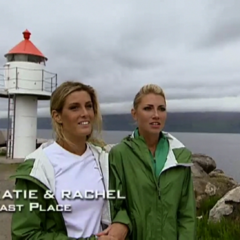 Katie & Rachel were eliminated from the race in 8th Place.