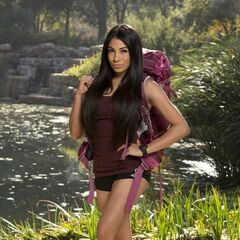 Jackie's individual photo for <i>The Amazing Race</i>.