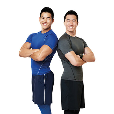 An alternate promotional photo of Will & Alex for <i>The Amazing Race Asia</i>.