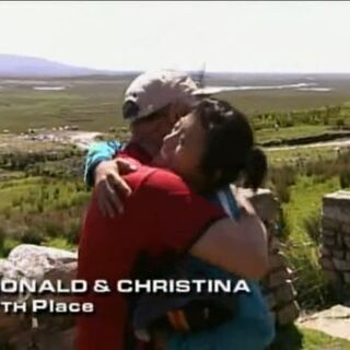 Ron &amp; Christina have finished in 7th place in the <a href=
