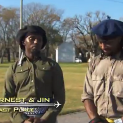 Ernest & Jin were eliminated from the race at 9th place.