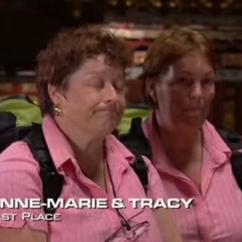 Anne-Marie & Tracy were eliminated from the race in 10th place.