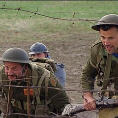Louie & Michael at the <i>Under Fire</i> Detour in the <a href=