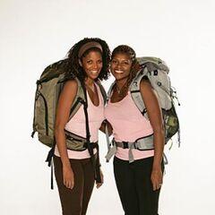 Monique & Shawne's alternate promotional photo for <i>The Amazing Race</i>.