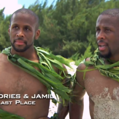 Idries & Jamil were eliminated from the race in 10th place.