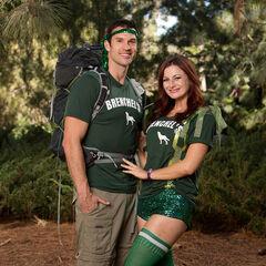 Brendon & Rachel's alternate photo for <i>The Amazing Race: All-Stars</i>.