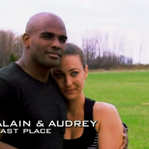 Alain & Audrey were eliminated from the race in 5th place.