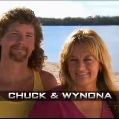 Chuck & Wynona's opening pose.