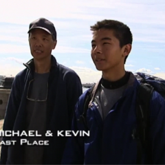 Michael & Kevin were eliminated from the race in 7th place after a costly error by being penalized for taking a taxi on two occasions.