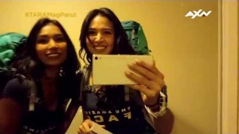 The Amazing Race Asia 5 T-0 Racers' Vlogs - Maggie and Parul