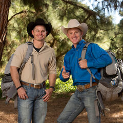 Jet &amp; Cord alternate promotional photo for <i>The Amazing Race: All-Stars</i>.