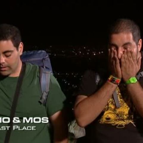 Mo & Mos were eliminated from the race in 8th place.