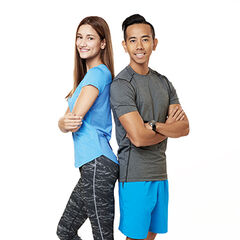 An alternate promotional photo of Anita & Tom for <i>The Amazing Race Asia</i>.