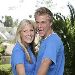 An alternate promotional photo of Meghan & Cheyne for <i>The Amazing Race 15</i>.