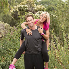 Tim & Marie's alternate promotional photo for <i>The Amazing Race</i>.