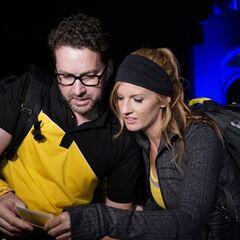 Burnie & Ashley reading the <a href=