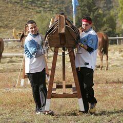 Dan & Jordan doing the <i>Horse Carry</i> <a href=