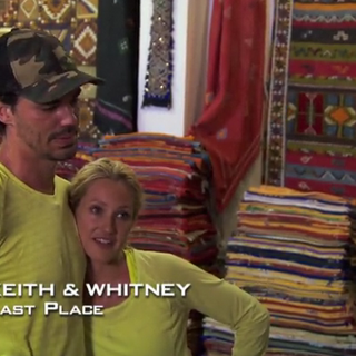 Keith &amp; Whitney were eliminated from the race in 8th place after they have been <a href=