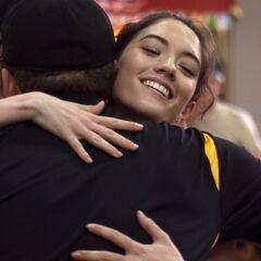 Brodie hugging <a href=