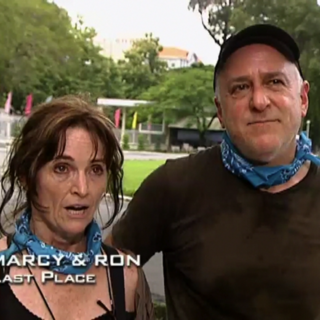 Marcy & Ron were eliminated from the race in 10th Place.