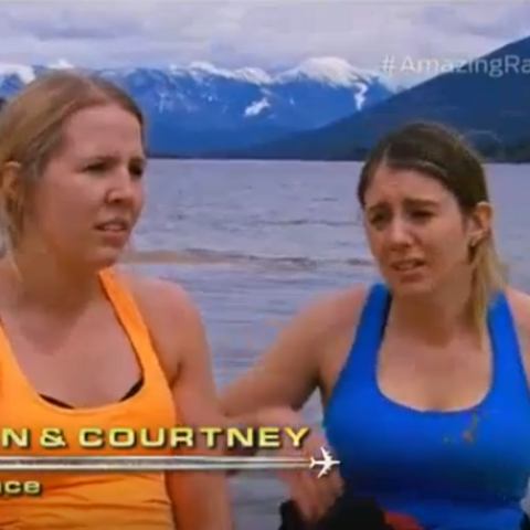 Megan & Courtney are eliminated from the Race in 8th place having not used their given <a href=