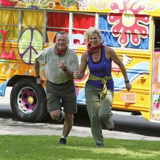 Rob & Sheila running to the <a href=