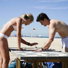 Kelsey & Joey doing the <i>Sand</i> <a href=